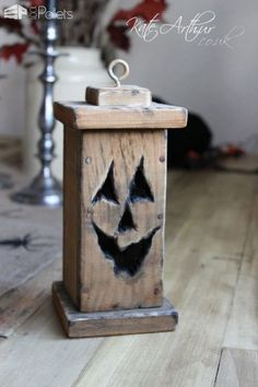 22 Superb Halloween Pallet Ideas, Wooden Pumpkins & Decorations Pallet Home Accessories