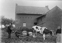 Boschpoort in 1920,op de plaots boe noe de Hubertuskerk steit
