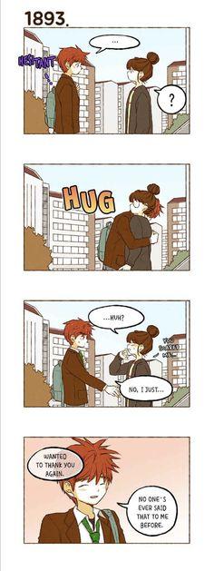 Super Secret Webtoon, Hug, Comics, Cartoons, Comic, Comics And Cartoons, Cuddle, Comic Books, Comic Book