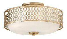 View the Fredrick Ramond FR35601 3 Light Semi Flush Ceiling Fixture from the Jules Collection at LightingDirect.com.