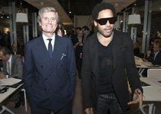 Lenny Kravitz al Salone del Mobile 2012