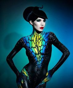 Nelly Recchia - Body Painting - Aim Artists