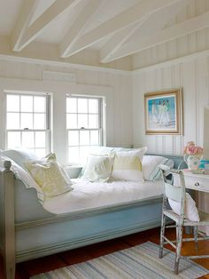 Manufactured Home Decorating Ideas Modern Cottage Style. 15 Country Cottage Bedroom Decorating Ideas Home Design . Home Design Ideas Cottage Style Decor, Beach Cottage Style, Beach Cottage Decor, Cottage Design, Cottage Living, Cozy Cottage, Coastal Cottage, Coastal Decor, Coastal Style