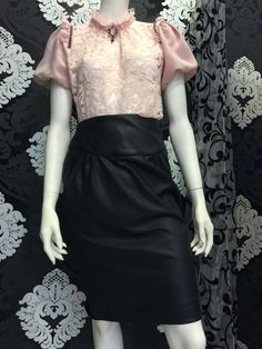 Discover the Ymoción Design collections and shop in the official online store for Forever Victoria & Dollyland tops Waist Skirt, High Waisted Skirt, Leather Skirt, Victoria, Glamour, Blouse, Lace, Skirts, Fashion Design