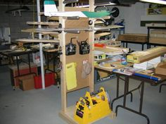 rc airplane workshop - Storage Ideas