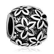 Pugster Jewelry Poinsettia Flower European Charm by CharmednBeaded, $5.00