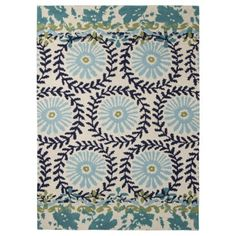Boho Boutique™ Medallion Floral Area Rug