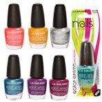 I love the sparkle polish by them! Dollar Tree Finds, Dollar Tree Store, Fun Nails, Pretty Nails, Nail Polish Trends, Nail Polishes, La Colors, Beauty Supply, Christmas Nails
