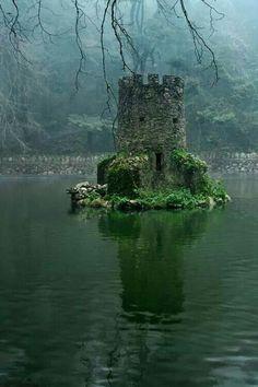 Celtic ruin