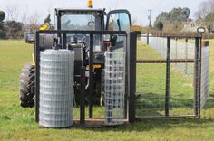 Stock Fencing, Tractor Accessories, Fence Options, Horse Fencing, Building A Fence, Metal Projects, Backyard Bbq, Livestock, Tractors