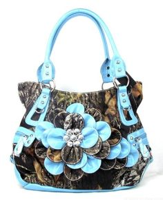 Western Blue Camouflage Flower Rhinestone Concho Handbag Purse Large Go CowGirl http://www.amazon.com/dp/B00C09DY3E/ref=cm_sw_r_pi_dp_4P0Wtb1EW1P9TKSV
