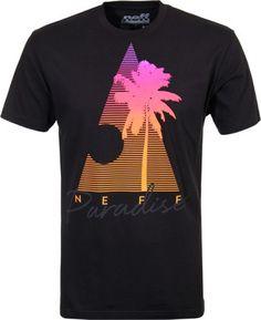 Neff Neff Paradise T-Shirt - black - Men's Clothing»Shirts»T-Shirts»Short Sleeve T-Shirts