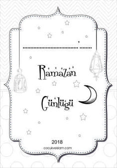 Ramazan Gunlugu Boyama kapak