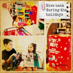 The Holidays: A Great Time To Teach Kids To Give Back #spon