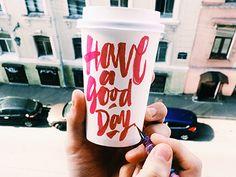 "brush tag ""Have a good day"" yap! by kirillrichert"