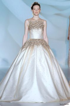 2015 bridal collections | ... 2015 barcelona bridal week perfume collection sleveless ball gown