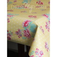 Roses Blanches Yellow Oil Cloth Per Metre per metre Mattress, Roses, Oil, Yellow, Clothes, Furniture, Products, Home Decor, Outfits