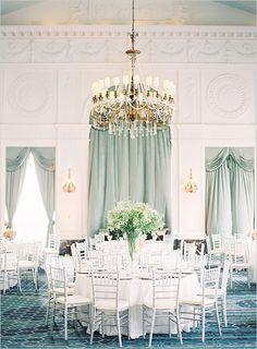 elegant ball room wedding