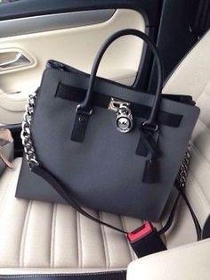 I just love the Charcoal and Chains bag  MICHAEL KORS HAMILTON HANDBAG