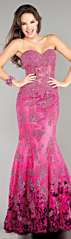 Jovani Pink Evening Gown jaglady
