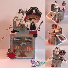 Card box, Diep in de zee!