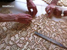 handmade tiles in HM Oman Palace Mirror Tiles, Wall Tiles, Swimming Pool Tiles, Islamic Patterns, Tile Panels, Handmade Tiles, Tile Installation, Carpet Tiles, Decorative Tile