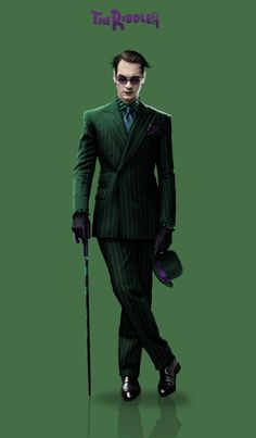 ArtStation - The Riddler, Simon Lindwall The Riddler, Riddler Gotham, Comic Book Villains, Gotham Villains, Best Villains, Bat Joker, Joker And Harley, Children's Comics, Batman Universe