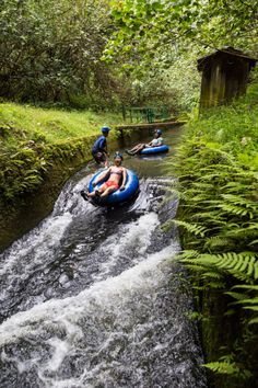 Tubing in Kauai is not all calm rivers downhill.