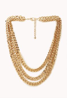 Rebel Girl Layered Necklace | FOREVER21
