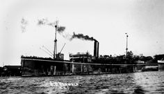 The S.S Karmala upon which the 2nd Battalion Loyal North Lancashire Regiment sailed to German East Africa on 16th October 1914
