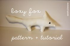 boxy fox pattern + tutorial - see kate sew