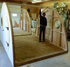 Garden room outdoor The Wooden Hobbit Hole Garden Room or Summer House will be a stunning addition to your outdoor space. A versatile multi-use design that ships anywhere in the contiguous US, and installation and assembly can be completed in one weekend. Backyard Buildings, Shed Plans, House Plans, Play Houses, Cubby Houses, The Hobbit, Tiny House, House Design, How To Plan