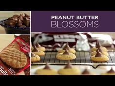 HERSHEY'S KISSES | Peanut Butter Blossoms Recipe
