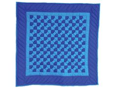 Amish Bowtie Baby Quilt - ID: 1714   This is one of the patterns in my AMISH QUILTS COLORING BOOK. http://amzn.to/1VmIOUi