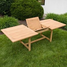 Look at this Outdoor Teak Expandable Rectangular Table with Hideaway Insert Table. Read our rest of the list of perfect teak outdoor furniture for patio space. Or you can read it if you love more patio ideas to get more inspiration. Patio Dining, Patio Table, Patio Chairs, Outdoor Dining, Dining Table, Dining Room, Homemade Outdoor Furniture, Teak Outdoor Furniture, Diy Furniture