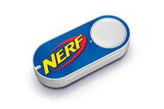 Amazon's new Dash buttons restock Nerf Play-Doh and more Since first introducing its connected buttons for easily ordering the goods Prime members use most Amazon has regularly added new Dash options to its arsenal. Today the retailer tacked on 50 more including easy ordering for Nerf Play-Doh Goldfish crackers Campbells soup and dozens of others. You know in case you lost all of your Nerf darts the day after you bought that last pack. There are new additions for toilet paper cleaning…
