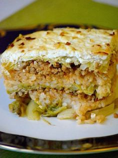 Hungarian layered savoy cabbage casserole (Rakott kelkáposzta) is also a traditional Hungarian recipe, a real comfort food. The salty cabbage, the paprika mince and the rice go together extremely well, the sour cream makes it creamy. It's all about the marriage of flavors. Fortunately the