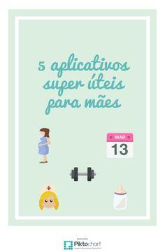 5 aplicativos super úteis para mães