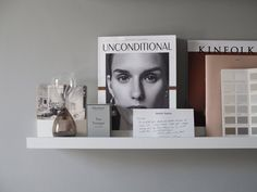 A cosy, grey home office for a freelance creative – my makeover reveal Gray Home Offices, Home Office Decor, Mosslanda Picture Ledge, Muji Notebook, Living Room Tv Cabinet, Ikea Pictures, Ikea Alex, Anglepoise, Pink Cushions