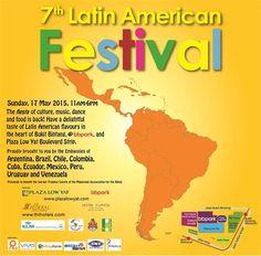17 May 2015: Plaza Low Yat 7th Latin American Festival