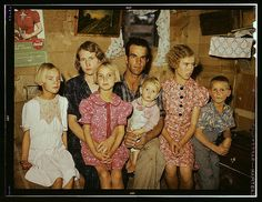 Jack Whinery and his family, homesteaders, Pie Town, New Mexico.