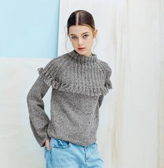 Ravelry: Designs by Phildar Design Team Ravelry, Raglan, Crochet Clothes, Pull, Knitwear, Vest, Turtle Neck, Knitting, Pattern