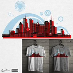 CHICAGO SKYSCRAPERS  on Threadless
