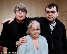 #StephenKing says that he and his wife Tabitha (center), seen here with their son Owen in 2008, give about $4million to charity every year