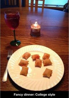 Fancy #dinner, #college style.