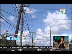Edesur Falla en transmisión provoca interrupción en Azua, Peravia y Ocoa #Video - Cachicha.com