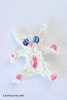 How to Make a Rainbow Loom Baby Bunny Please Follow and Repin!