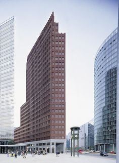 Tower beauty of few - hans kollhoff / potsdamer platz tower. bardzo lubię <3