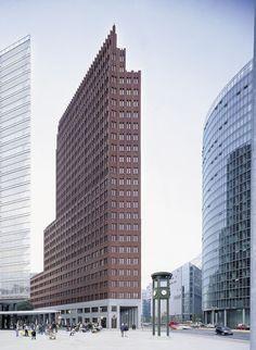 Tower beauty of few - hans kollhoff / potsdamer platz tower. bardzo lubię <3