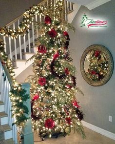 Beautiful christmas tree on We Heart It